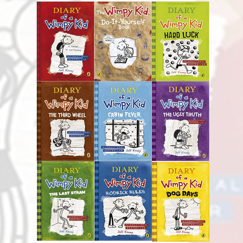 Books diary of a wimpy kid 9 book box set by jeff kinney third diary of a wimpy kid 9 book box set by jeff kinney third wheel solutioingenieria Image collections